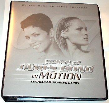 James Bond In Motion cards Jamesbondwomeninmotionalbum