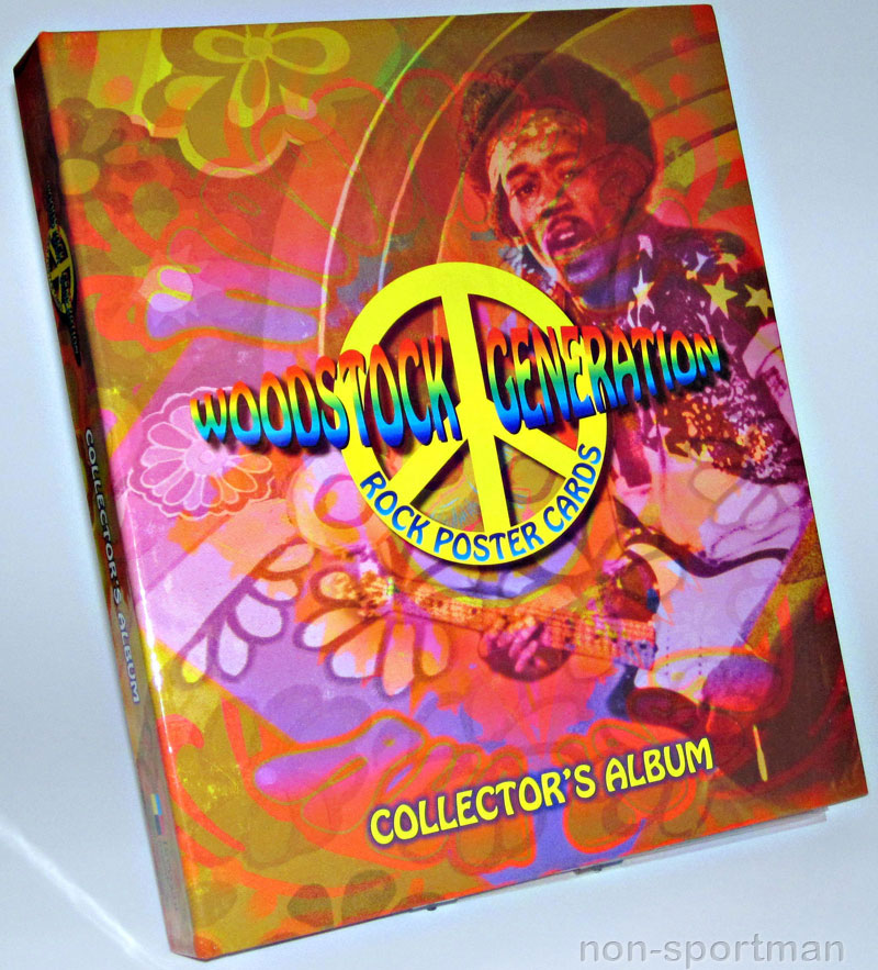 WOODSTOCK GENERATIONS ROCK POSTER BINDER WITH PROMOS